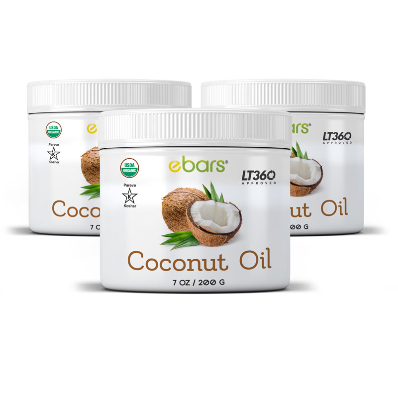 Coconut Oil - 3 Jars